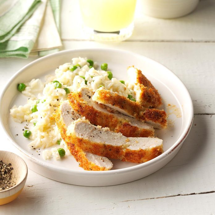 Parmesan Chicken With Lemon Rice Exps Sdam17 200544 C12 07 5b 2