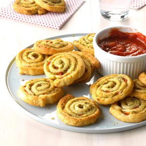 Party Pesto Pinwheels