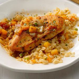 Peach Salsa Chicken