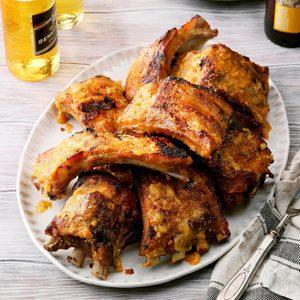 Peachy Pork Ribs