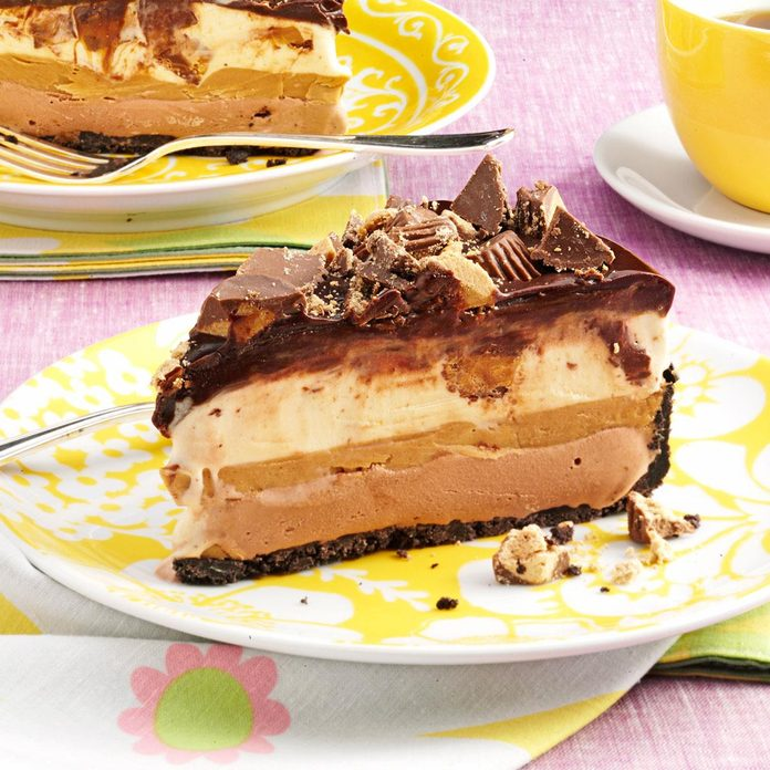 Peanut Butter-Chocolate Ice Cream Torte