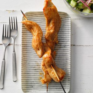 Peanut Turkey Satay