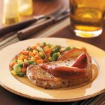 Pear Pork Chops