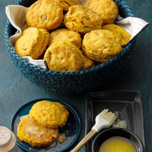 Pecan Pumpkin Biscuits