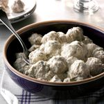 Peppered Meatballs