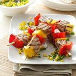 Peppered Tuna Kabobs