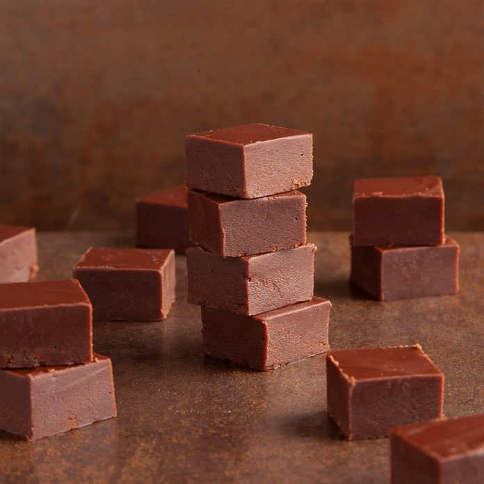 Homemmade chocolate fudge
