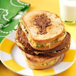 Pine Tree Cheese Melts