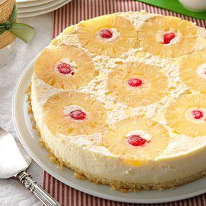 Pineapple Cheesecake-Topped Cake