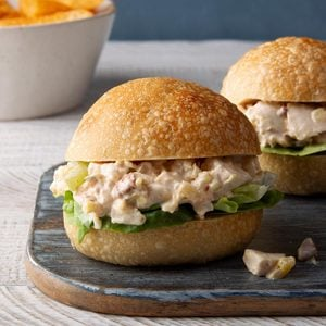 Pineapple Chicken Salad Sandwiches