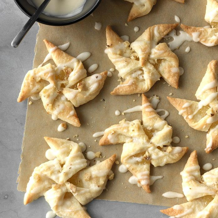 Pineapple Star Cookies