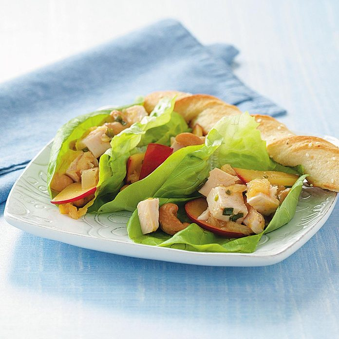 Plum Chicken Wraps