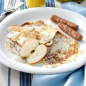 Polish Apple Pancakes