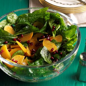Pomegranate Persimmon Salad