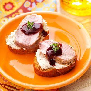 Pork Canapes