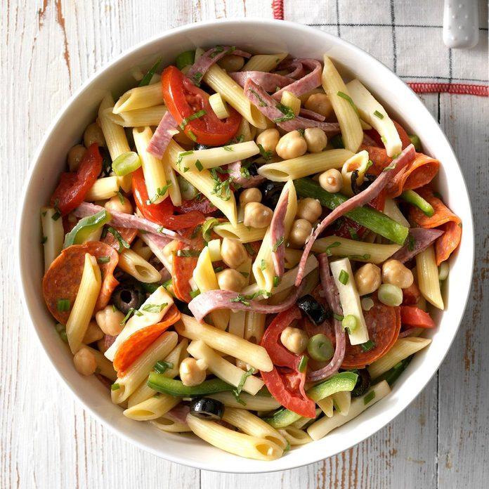 Potluck Antipasto Pasta Salad