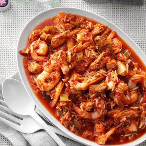 Pressure-Cooker Italian Shrimp 'n' Pasta