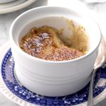 Pressure Cooker Maple Creme Brulee