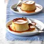 Pressure-Cooker Flan in a Jar