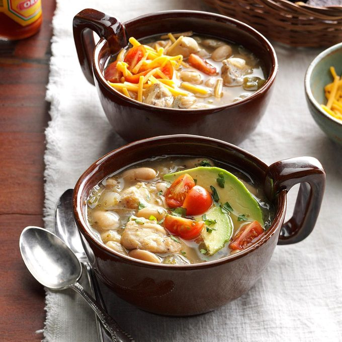 Instant Pot White Bean Chicken Chili