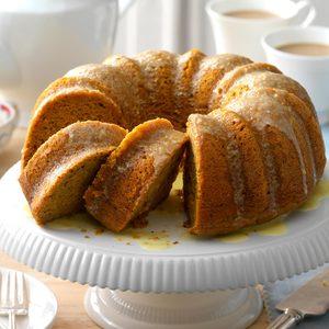 Pumpkin-Citrus Tube Cake