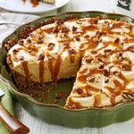 Pumpkin Mousse Pie with Gingersnap Crust
