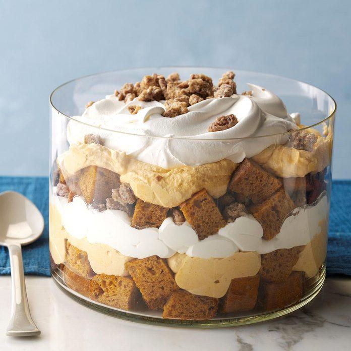Pumpkin Mousse Trifle
