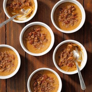 Pumpkin Pecan Custard
