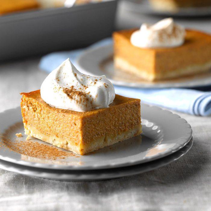 Vegetarian Pumpkin Shortbread Dessert