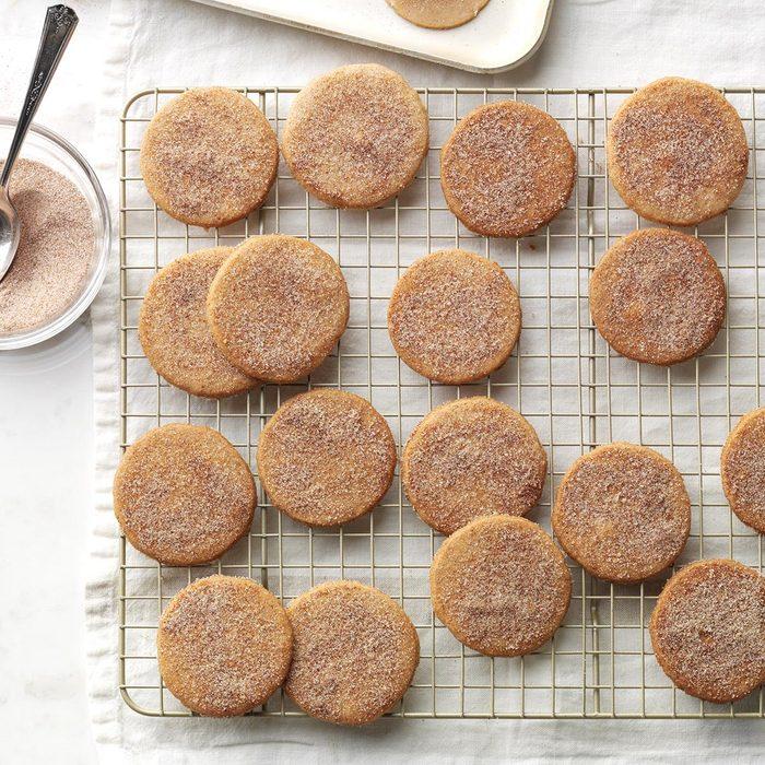 Pumpkin-Spice Sugar Cookies