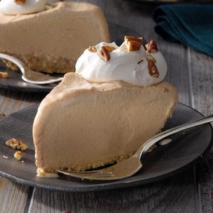 Quick Frozen Pumpkin Pie