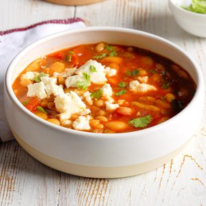 Quick Mexican Bean Soup