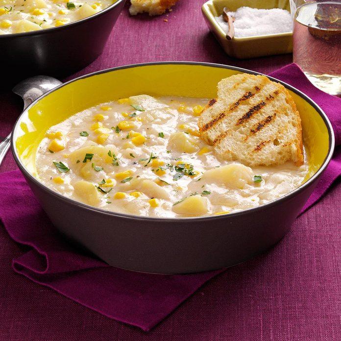 Quick Potato Corn Chowder Exps158873 Th2379800b05 03 1bc Rms 2