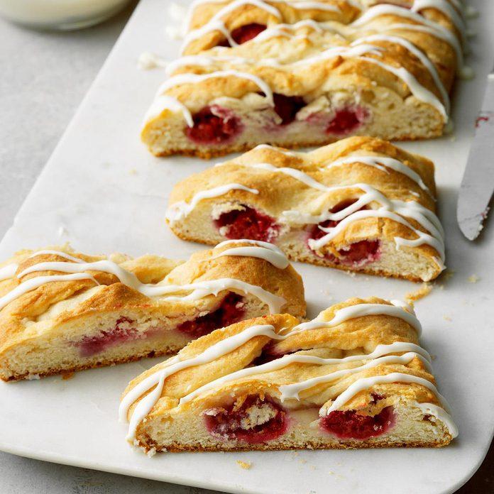 Raspberry Breakfast Braid