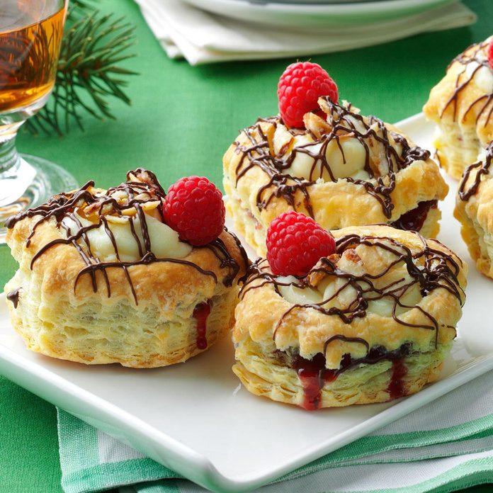 Raspberry & Cream Cheese Pastries