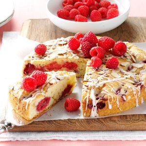 Raspberry Sour Cream Coffee Cake