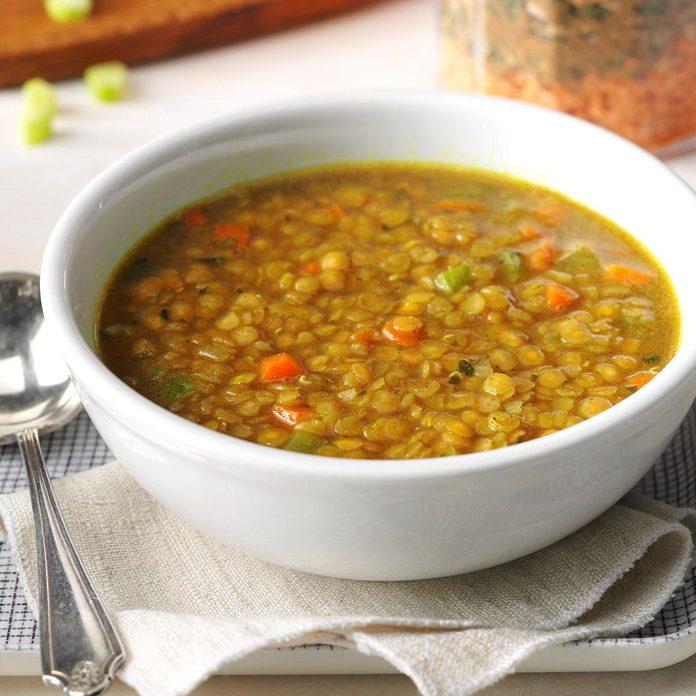 Red Lentil Soup Mix