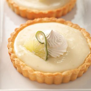 Refreshing Lime Tartlets