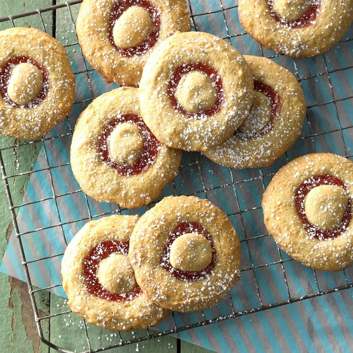 Rhubarb-Filled Cookies