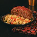Green Chile Rice with Vegetables