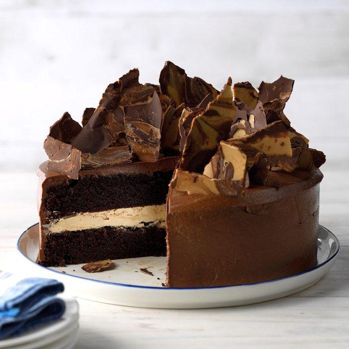 Rich Chocolate Peanut Butter Cake