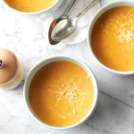 Roasted Cauliflower & Red Pepper Soup