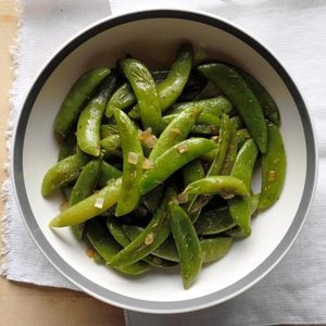 Roasted Sugar Snap Peas