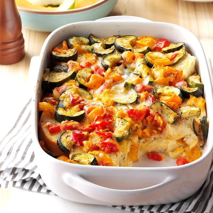Roasted Vegetable Strata