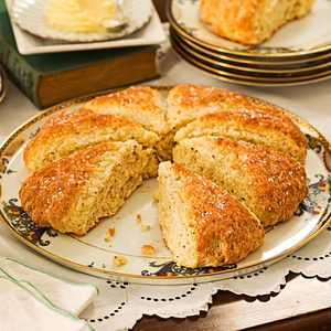 Rosemary-Lemon Scones