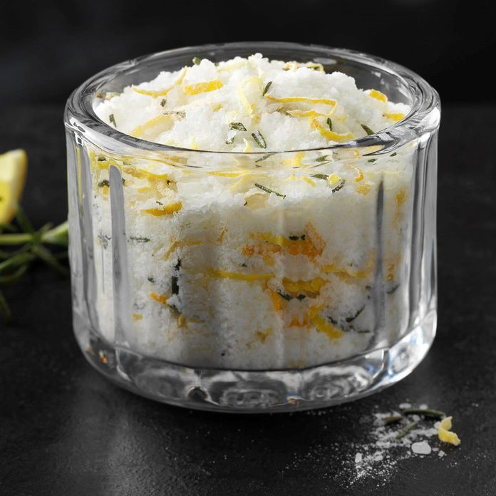 Rosemary-Lemon Sea Salt
