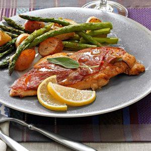 Sage & Prosciutto Chicken Saltimbocca