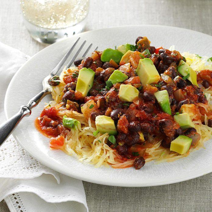 Salsa Spaghetti Squash