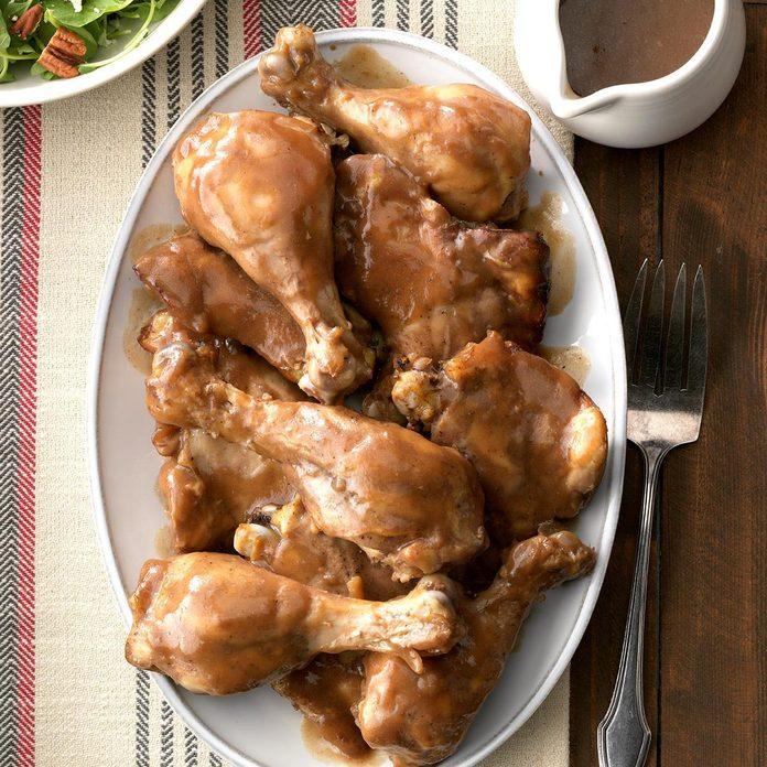 Saucy Raspberry Chicken