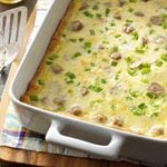 Sausage Cheese Squares